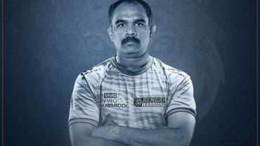 BC Ramesh Pro Kabaddi Season 7 Bengal Warriors Coach