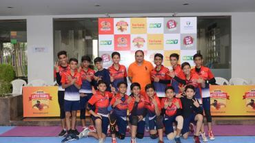 Gujarat Fortunegiants Little Giants Inter-School Kabaddi