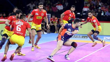 Gujarat Fortunegiants Vs. Bengal Warriors