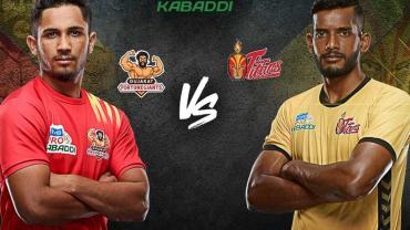 Pro Kabaddi Live Gujarat FortuneGaints vs Telugu Titans
