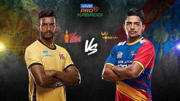 Pro Kabaddi live Telugu vs UP