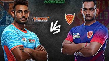 Pro Kabaddi Live Bengal Warriors vs Dabang Delhi
