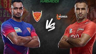 Pro Kabaddi League Dabang Delhi vs U Mumba