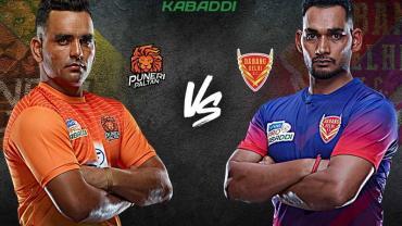 Pro Kabaddi Live Puneri Paltan against Dabang Delhi