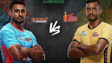 Pro Kabaddi Live Bengal Warrior vs Telugu Titans