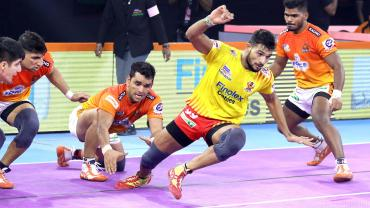 Sachin against Puneri Paltan