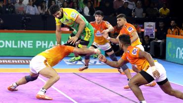 Pardeep Narwal against Puneri Paltan