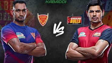 Dabang Delhi vsBengaluru Bulls