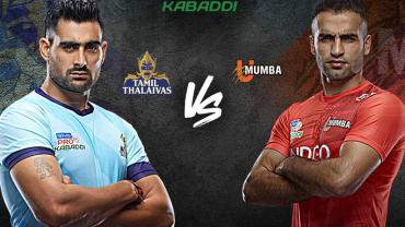 Tamil Thalaivas is playing against U Mumba