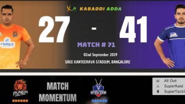 Nitin Tomar vs Vikas Khandola | Haryana Steelers vs Puneri Paltan