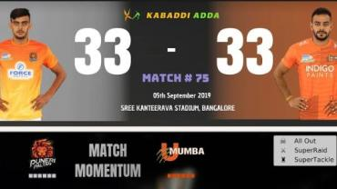 Puneri Paltan is playing against U Mumba