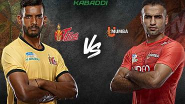 Telugu Titans is playing against U Mumba