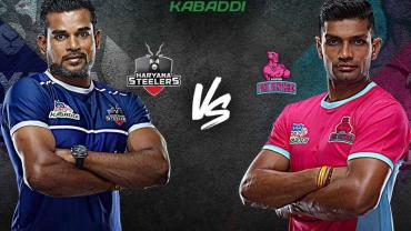 Haryana Steelers vs Jaipur Pink Panthers pro kabaddi live