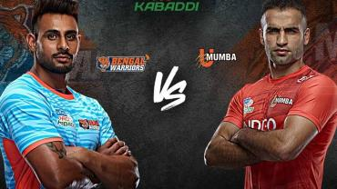Bengal Warriors vs U Mumba