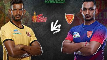 Pro Kavaddi Live Telugu Titans vs Dabang Delhi