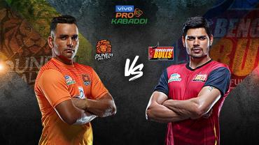 Puneri Paltan is playing against Bengaluru Bulls