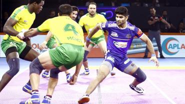 Haryana Steelers Vinay against Tamil Thalaivas
