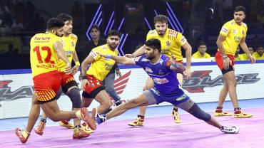 Haryana Steelers Vs. Gujarat