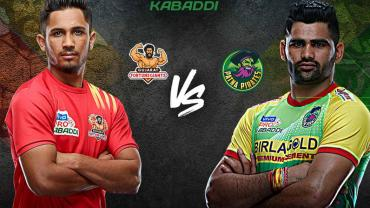 Gujarat fortunegiants vs Patna pirates