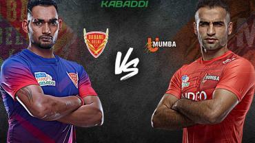 Dabang delhi vs U mumba