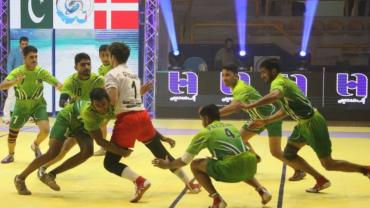 Quarter-finals of Junior Kabaddi World Cup 2019 Iran