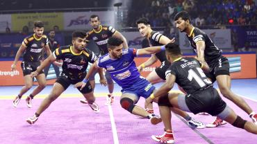Haryana Steelers in a match
