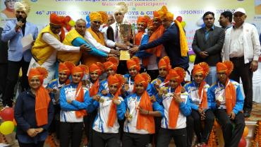 Haryana winningg team - Junior Nationals