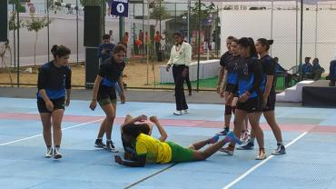 Himachal Pradesh vs Pondicherry in the 67th Senior Natioanls Kabaddi Championships
