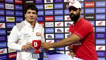 Sumit Singh (Courtesy - Bengaluru Bulls)