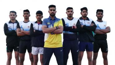 Mohit Narwal with his students