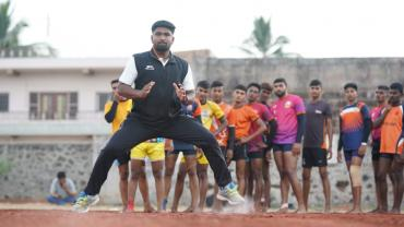 Ketan Gaikwad in action