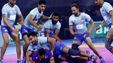 Tamil Thalaivas In action