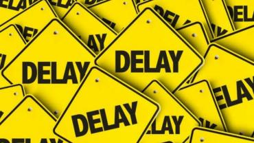 Delay in matches