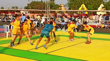Day 2 of Junior National Kabaddi Championship