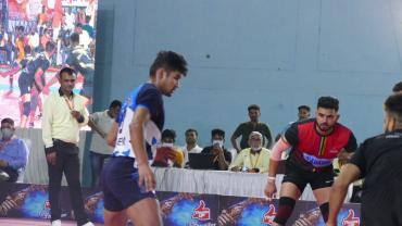 Naveen Kumar in action