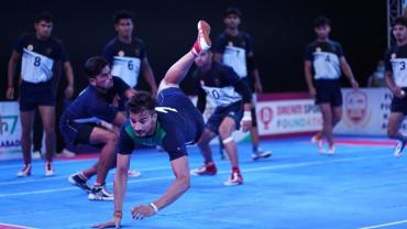 Ashu in action