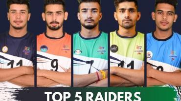 K7 Top 5 Raiders