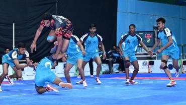 Mohit Goyat in action