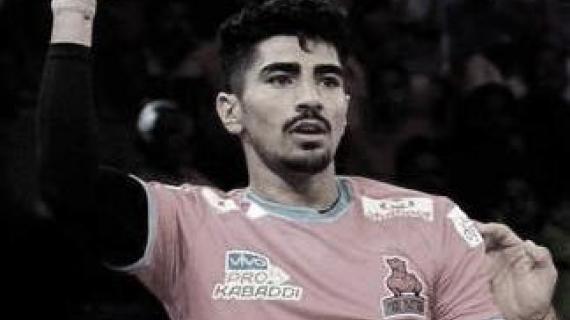Prokabaddi season 6 Nitin Rawal raider of the match