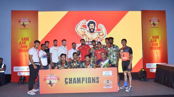 Surat teams lift Little, Yuva Giants kabaddi trophies Gujarat Forutnegiants