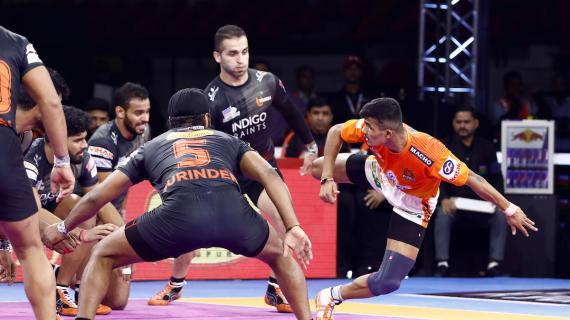 Puneri Paltan UMumba battle ends in a tie Pro Kabaddi News Match 75