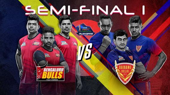 Semi final Pro Kabaddi season 7