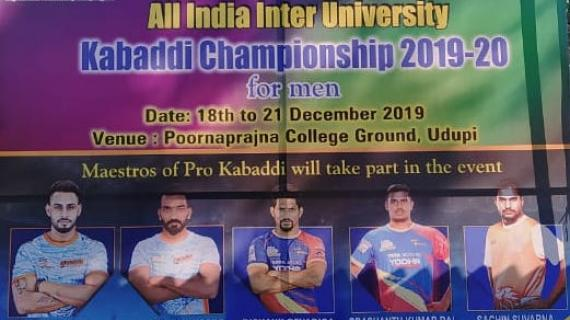 Interzonal University Nationals Udupi 2019