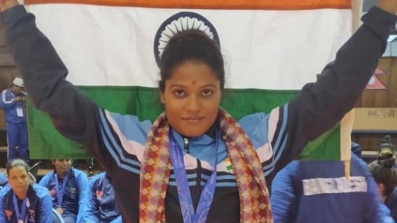 Payel Chowdhury - the indian womens kabaddi captain