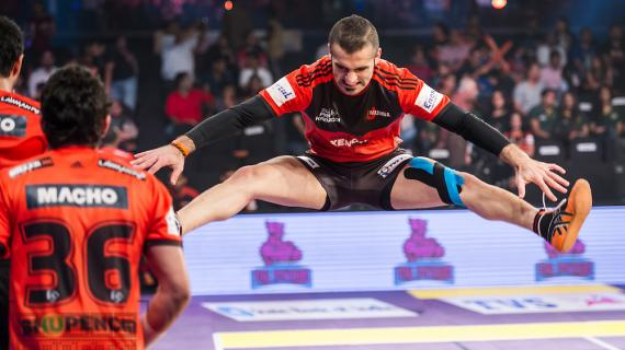 Fazel in action for U Mumba