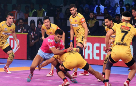 Jaipur Pink Panthers Vs. Telugu Titans