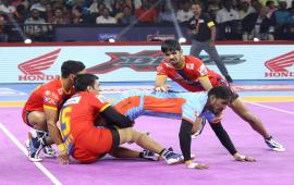 UP Yoddha Vs. Bengal Warriors