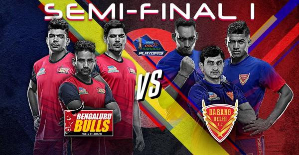 Semi final Pro Kabaddi season 7
