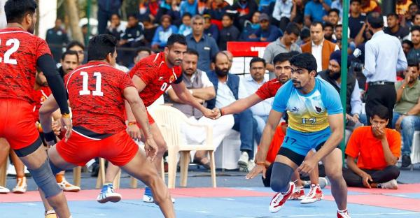 Haryana Men's team in action